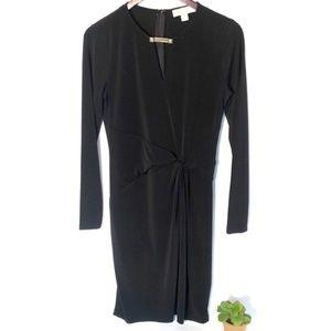 MICHAEL Michael Kors Knotted Black Dress